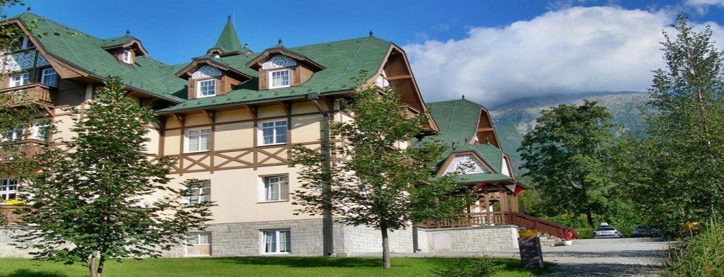 <strong>Hotel Penzión</strong> v Novom Smokovci je ideálnym miestom pre rodinnú dovolenku v príjemnom horskom prostredí