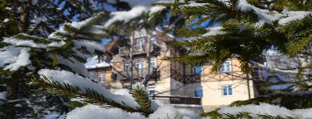 <p>100 m od hotela: <strong> Jakubkova lúka</strong>  <p>500 m od hotela: <strong> Hrebienok</strong>  <p>6 km od hotela:<strong> Tatranská Lomnica</strong>  <p>15 km od hotela: <strong> Štrbské Pleso</strong>